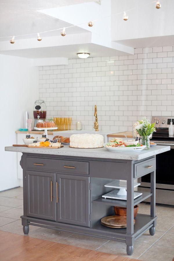 Craigslist Kitchen Island Makeover