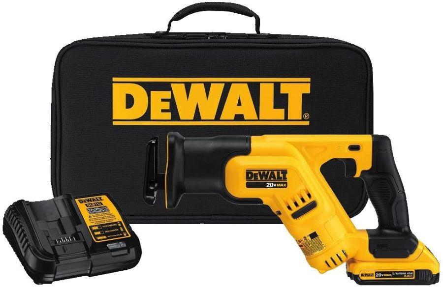 DEWALT 20V MAX Cordless Reciprocating Saw Kit