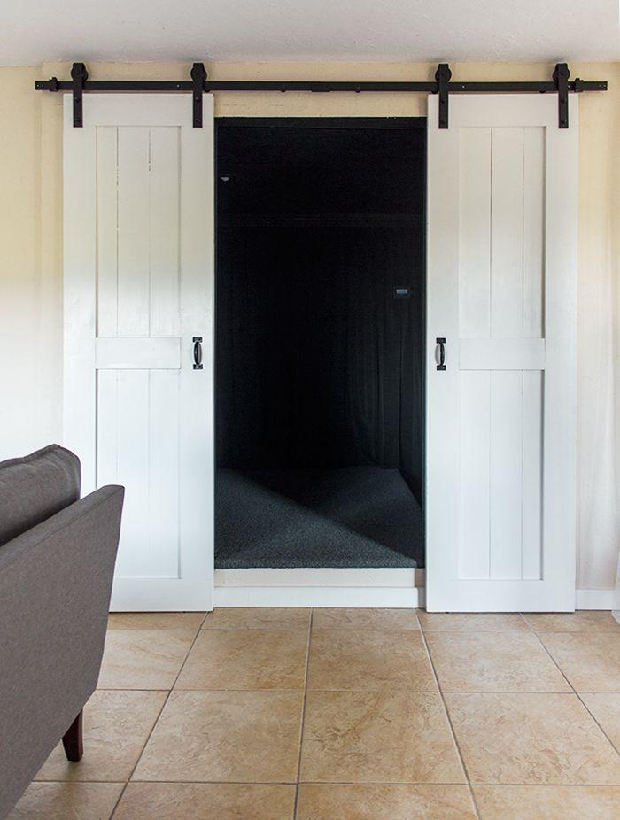 DIY Barn Door Plans & Tutorial
