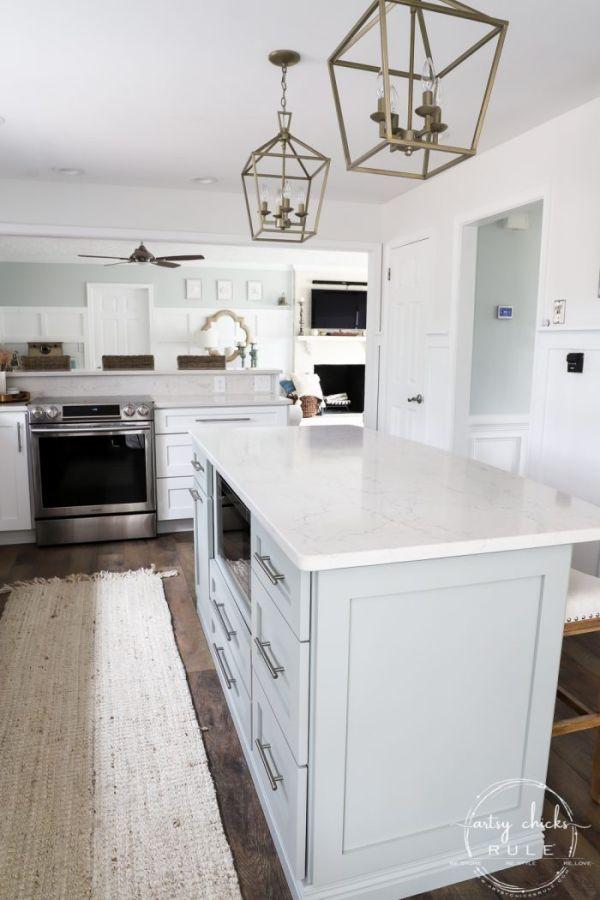 DIY Kitchen Island Big Box Store Cabinets