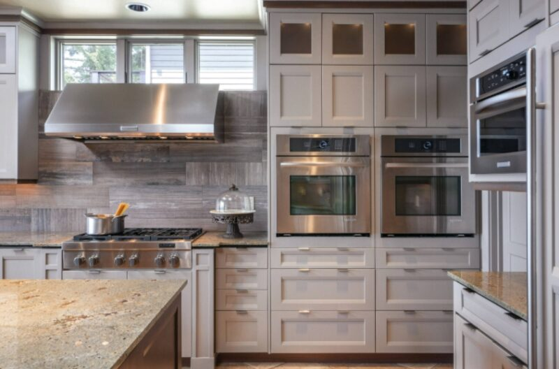 Greige Kitchen Cabinets Are Coming Back