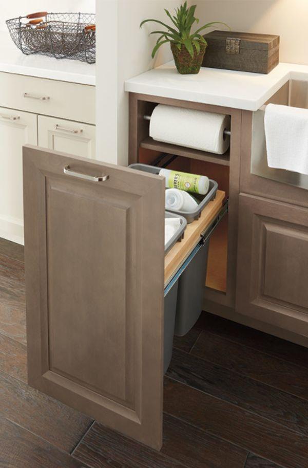 Diamond Cabinets: Base Paper Towel Cabinet