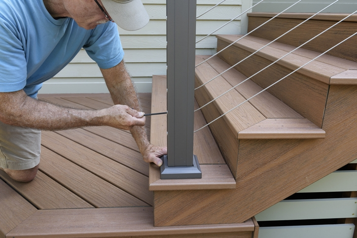 Is There An Exterior Stair Railing Code?