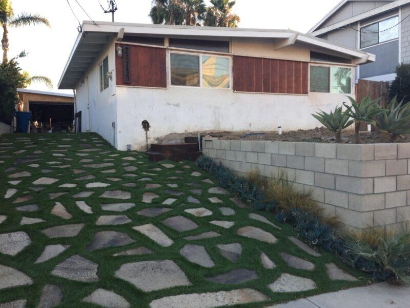DIY Stone Driveway Project