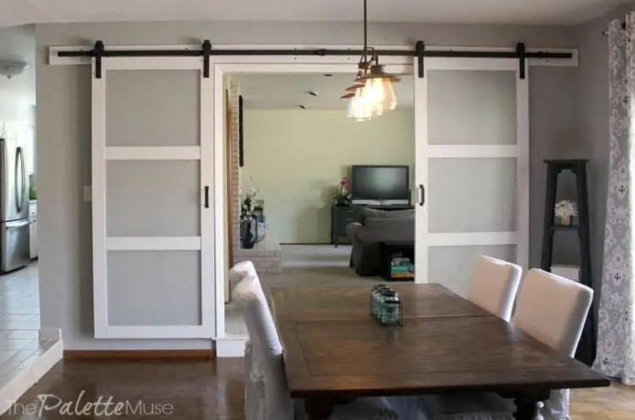 How to Hang Double Barn Doors
