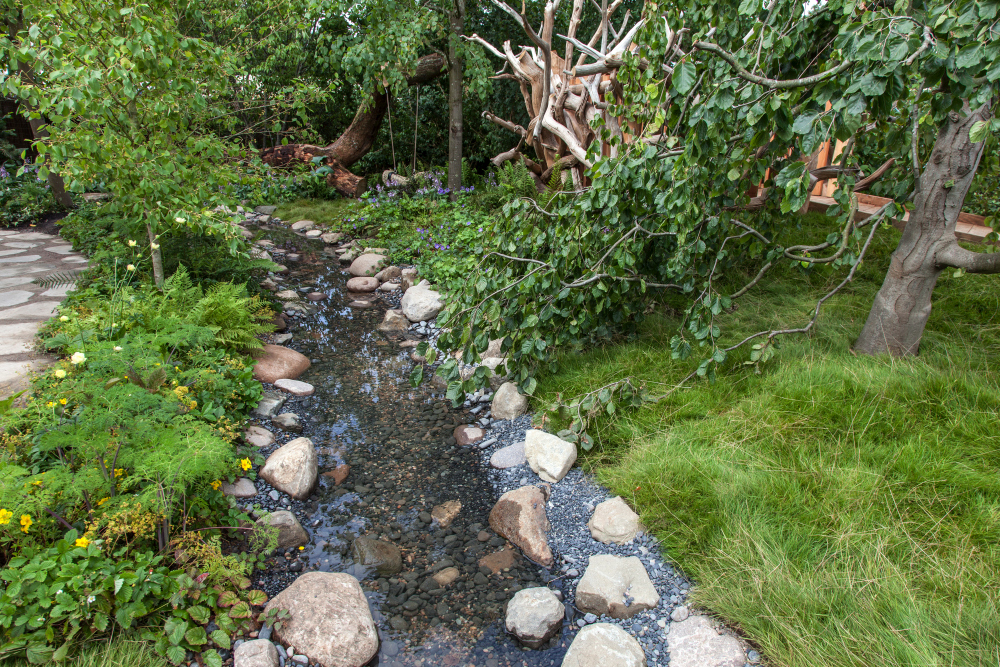 Implement A Swale Drain