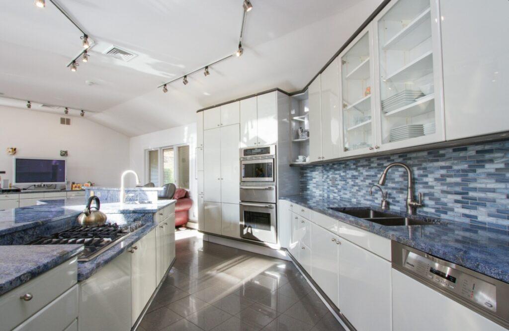 Blue Bahia Granite Interior Design