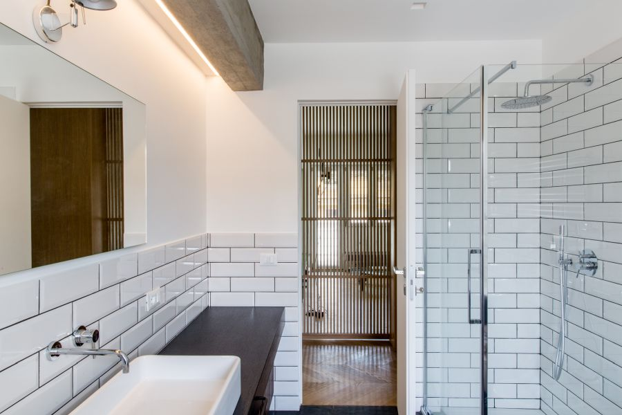 Matching tiles, different heights