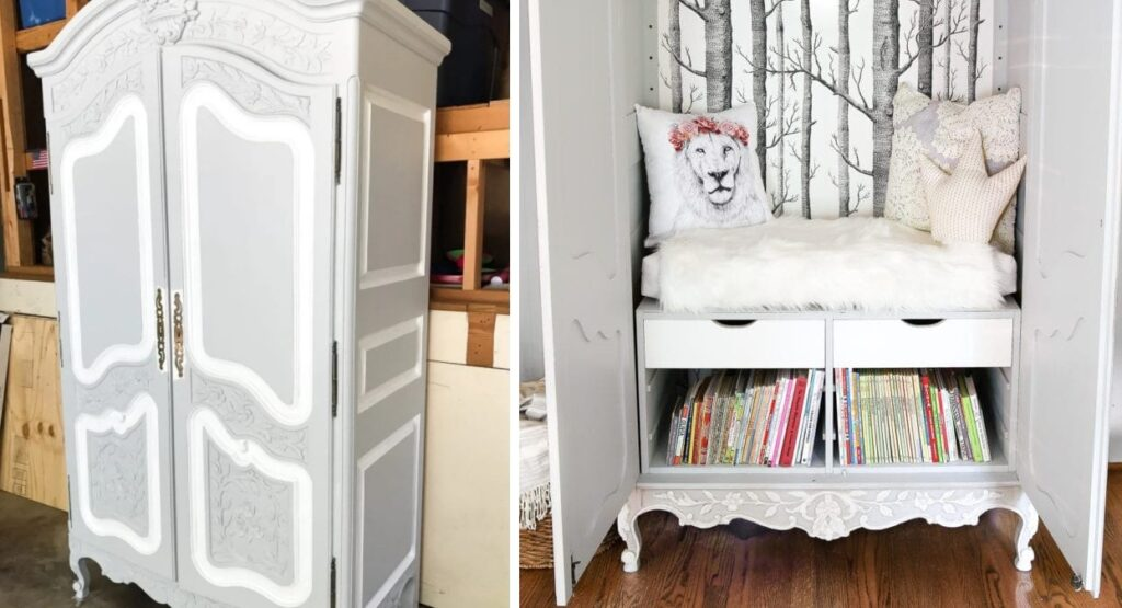 Narnia-inspired wardrobe