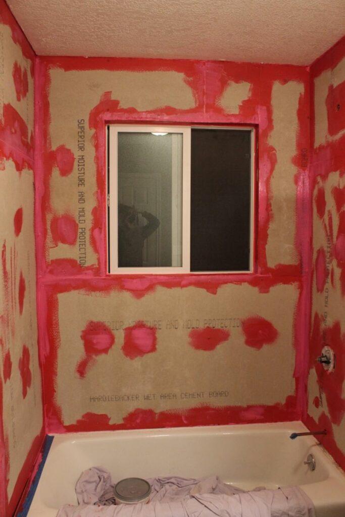 Redgard Waterproofing