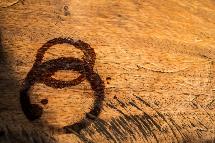 Removing Water Stains From Wood With Household Products