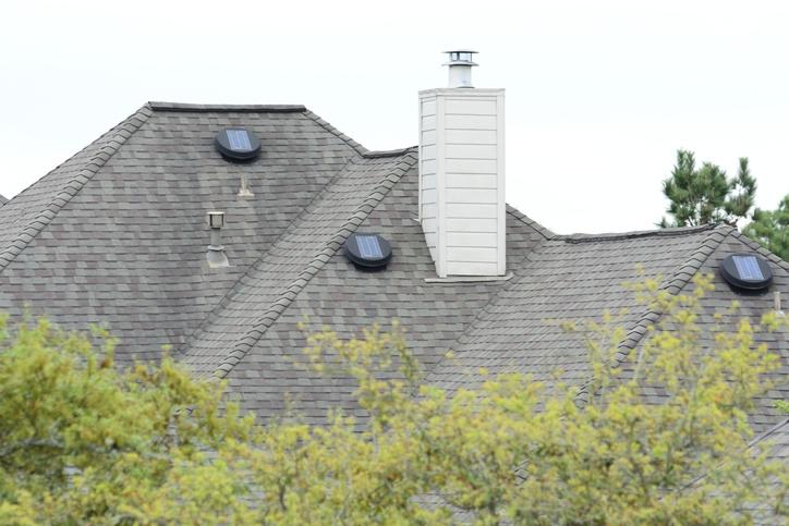 solar roof vent