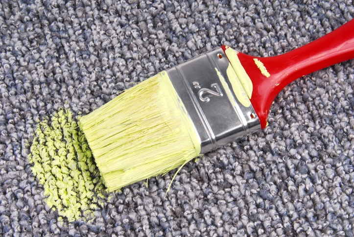 Tips For How To Get Paint Out Of Carpet