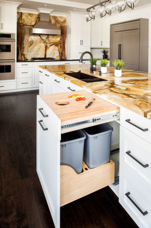 Transitional Kitchen, New York