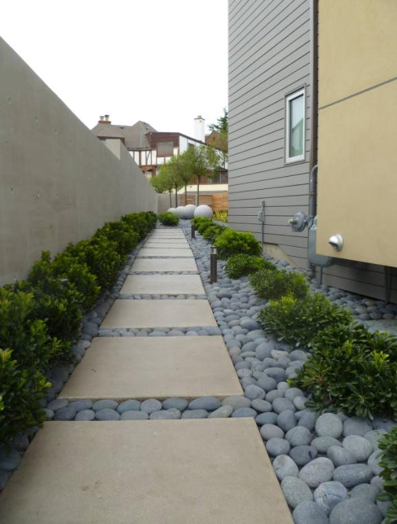 ¿Qué es un patio lateral?