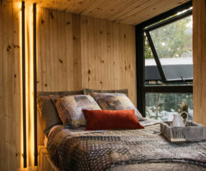 Small and Modern Cabana Optimized For Remote And Beautiful Locations