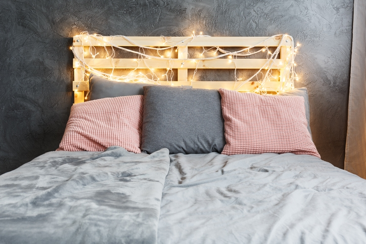 Go for a personalized headboard