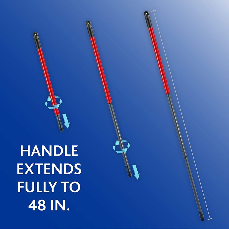 adjustable handle of the O-Cedar mop