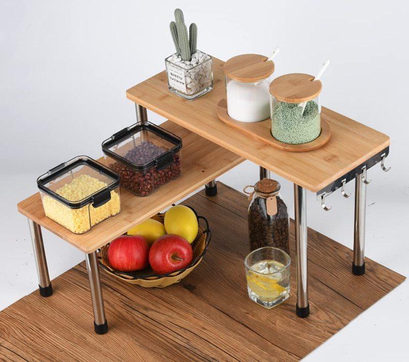 Corner Shelf For Counters