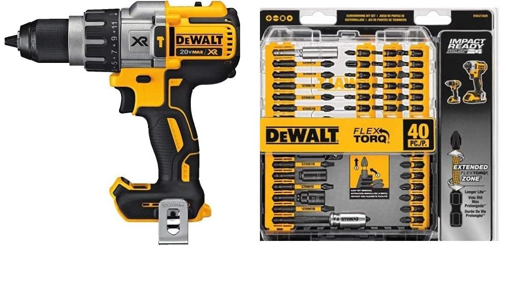 Our Choice for Best Hammer Drill: DEWALT DCD996B Hammer Drill