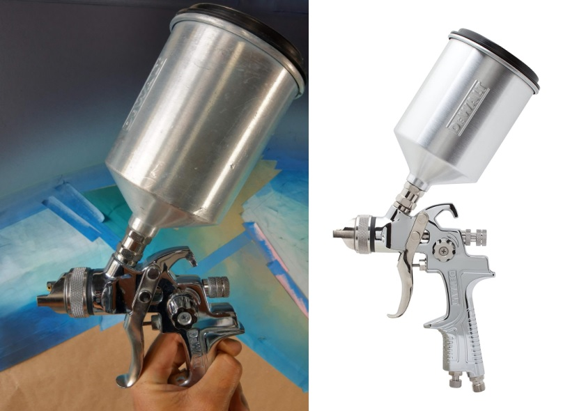 DEWALT HVLP Spray Gun - Most Durable HVLP Spray Gun