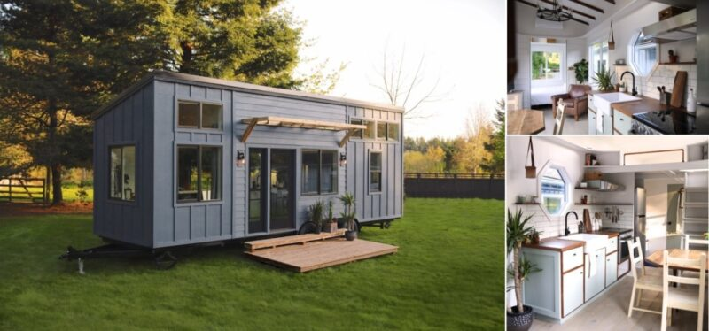 Luxury Tiny House On Wheels With A Versatile Interior Design