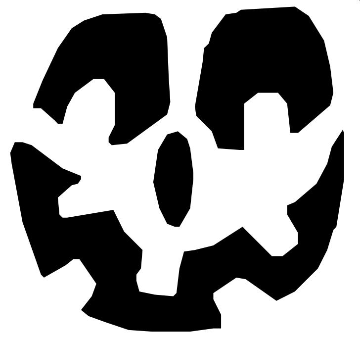 Goofy! - Pumpkin Carving Template
