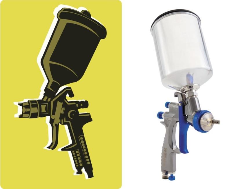 Graco-Sharpe 288880 HVLP FX3000 Paint Spray Gun - Editor's Choice for Best HVLP Spray Gun
