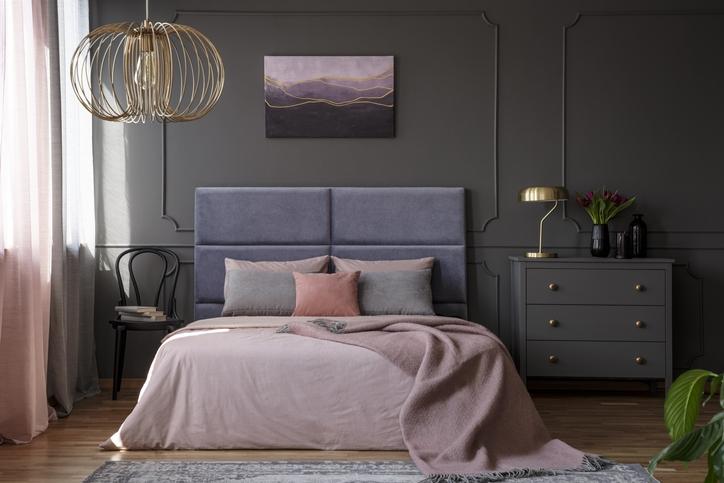Gray + Lavender