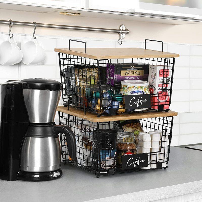 Kitchen Counter Basket