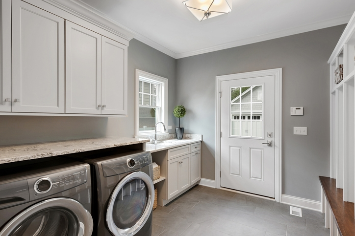 Above Washer and Dryer