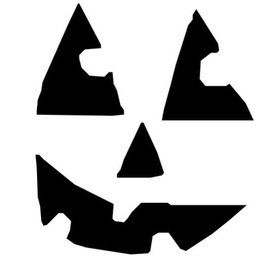 Looking at You! - Pumpkin Carving Template