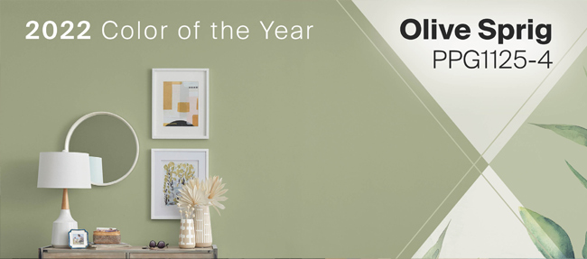PPGs 2022 Color of the Year