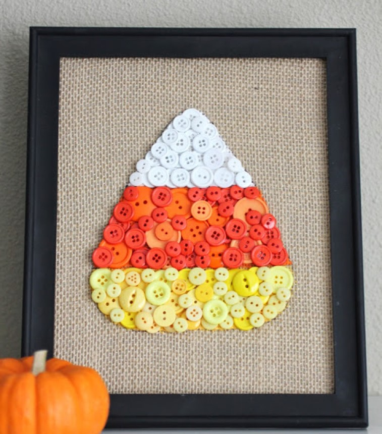 Picture Perfect DIY Fall Candy Corn Decorations