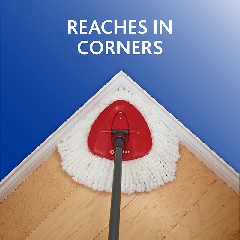 Cleans Corners - O cedar mop
