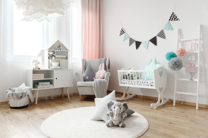 Soothing Gray Nursery