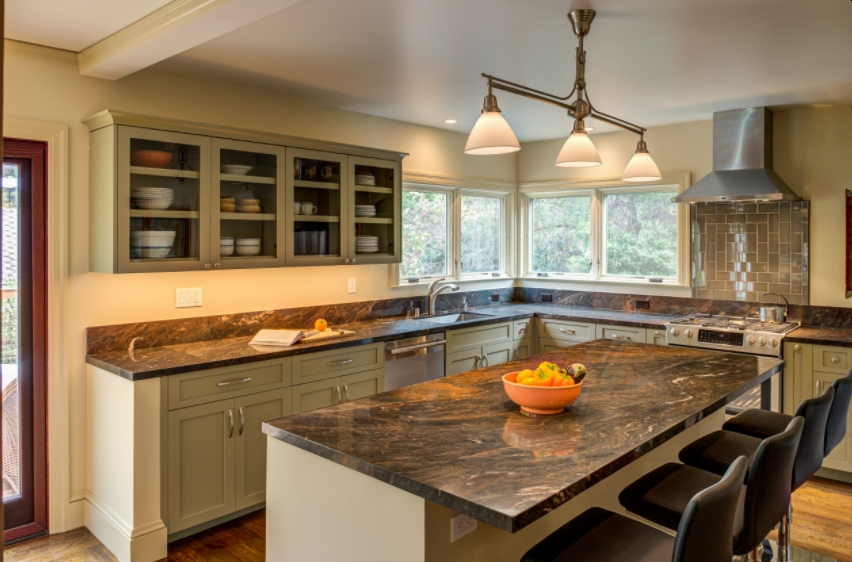 Incorporating Olive Sprig Color in Your Kitchen
