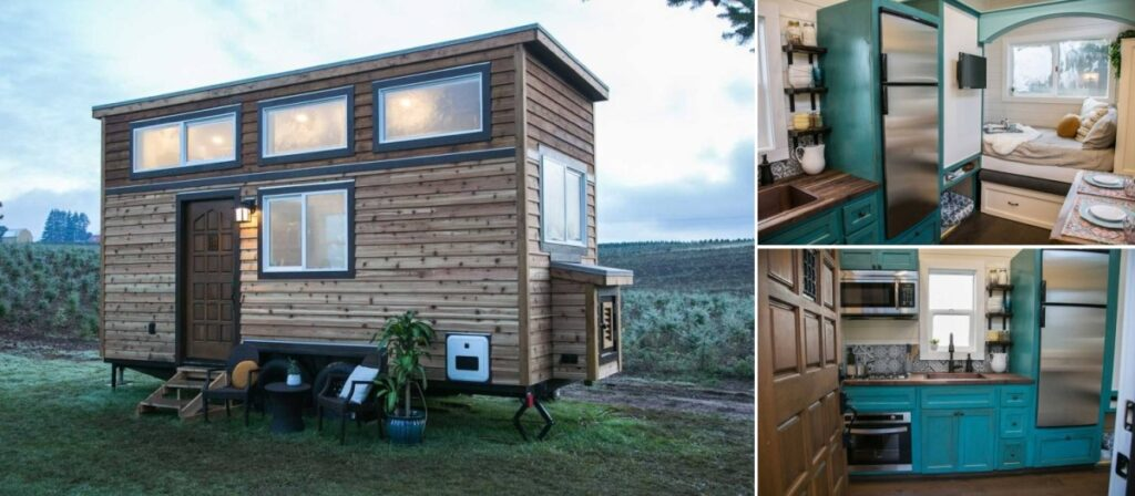 Although tiny, this house is very versatile and can even become a permanent residence