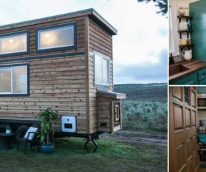 A Tiny Rustic House With Modern-Retro Design