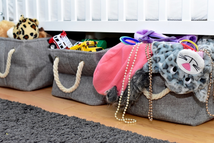 Use under-the-bed storage