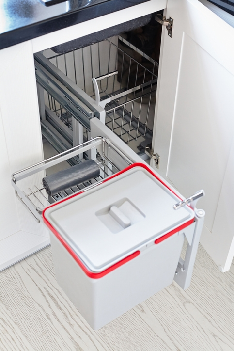 What Size Cabinet Do I Need for a Pull-Out Trash Can