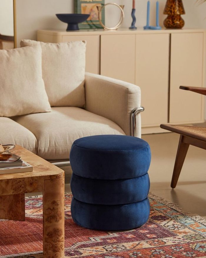 Urban Outfitters - blue chair for relaxation