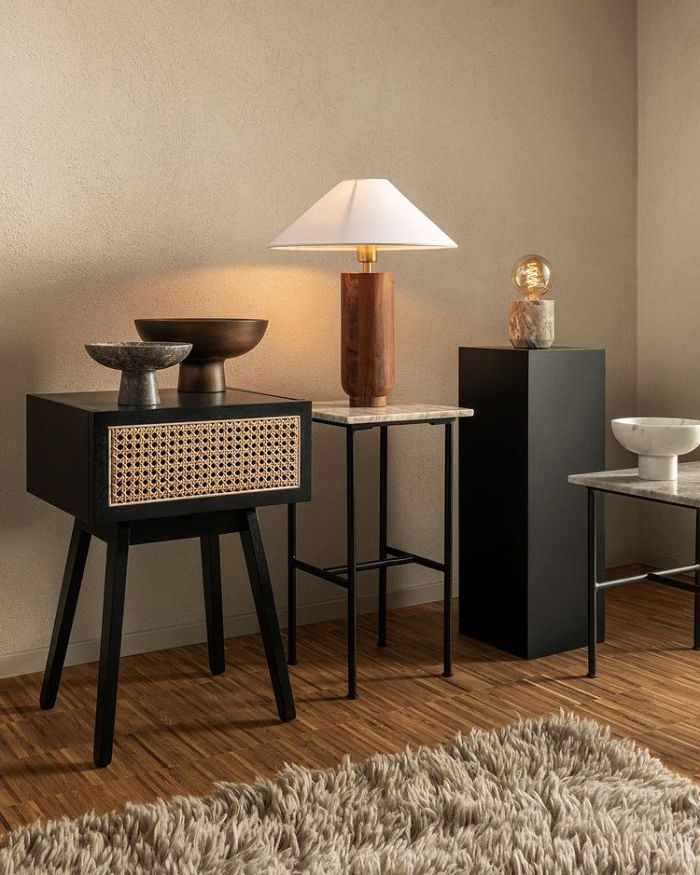 room with modern furniture