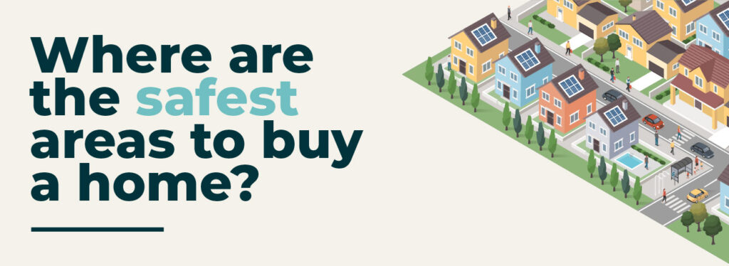 When buying a new home, safety is an important factor. To determine the safest areas to live in the UK, Homedit analysed crime rates, flood risks and more.
