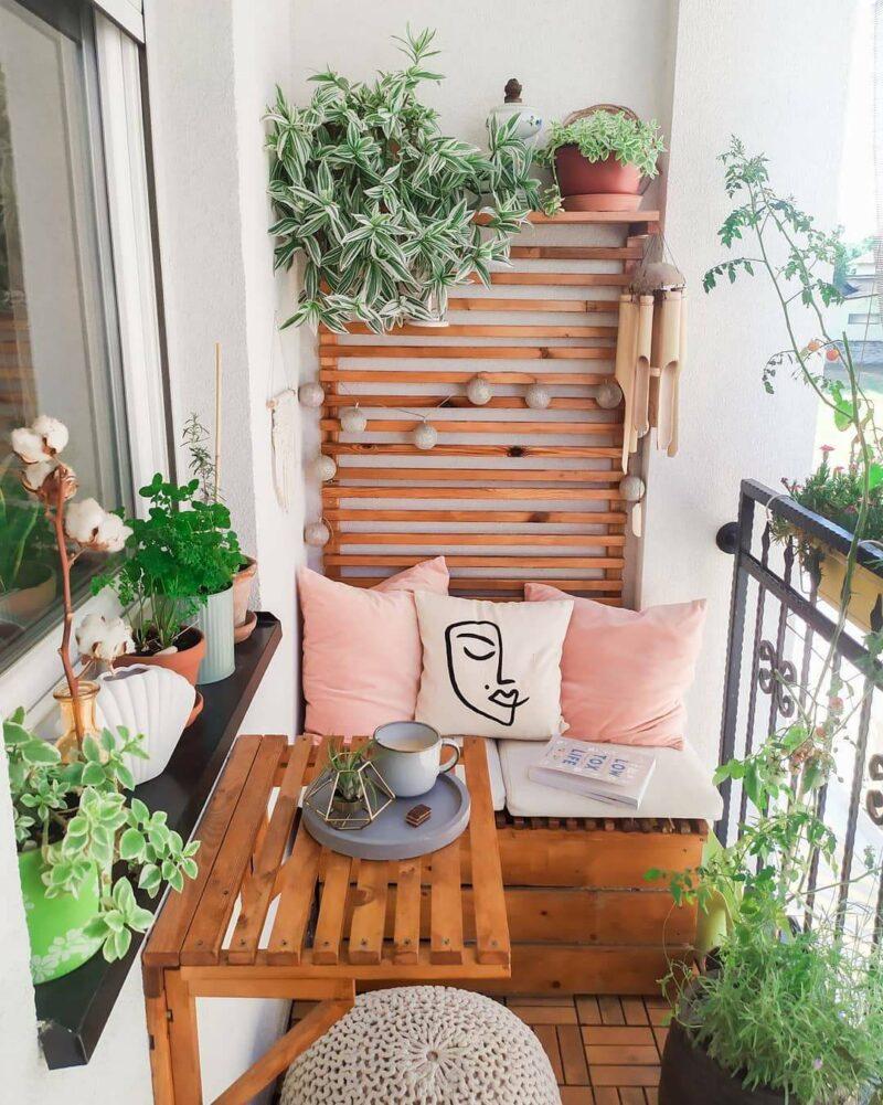 Stylish Ways To Decorate And Transform A Small Balcony