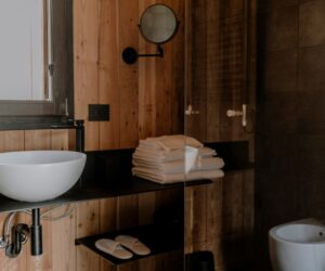 A Cozy Chalet For Two Brings An Old Chestnut Drying Room Back To Life