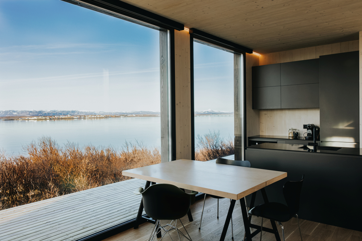 The house as a whole is simple, modern, timeless and environmentally-friendly