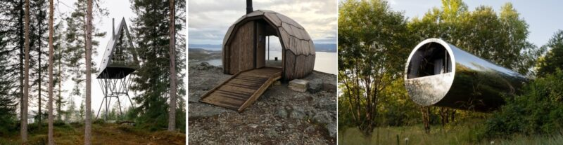 Unique Getaway Cabins With Architecture Styles Unlike Anything You've Seen Before